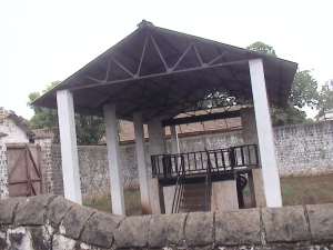 Gallows in Belgaum