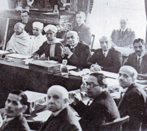 Dr. Ambedkar at the Round Table Conference